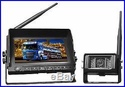 Split Screen Wireless Reversing Camera Kit X 2 Cameras Per Kit