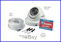 Swann 4575 4 Channel DVR 2TB Recorder 2xT852 2xT854 1080P HD 4 Camera CCTV Kit