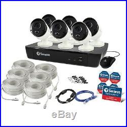 Swann 4K Ultra HD 6 Camera CCTv Kit with 2TB HDD and 45m Night Vision