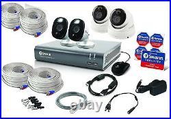 Swann 4 Channel DVR 4580 Security System 1080p Full HD FLASH HDD CCTV kit 2TB