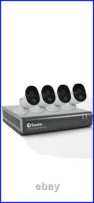 Swann 8 Channel Security Camera Kit, DVR-4580 with 1 TB HDD and 4 x 1080p