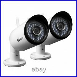 Swann Add on IP Wireless Cameras For NVW-485 WiFi Monitoring System CCTV Kit x2