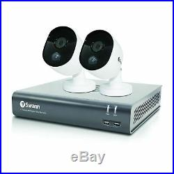 Swann DVR4-4580 Motion-Sensing 4 Channel 1TB CCTV Kit with 2x 1080p Cameras