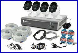 Swann DVR8 4580 8 Channel 1TB 4 x PRO-1080MSB Thermal Sensing Cameras CCTV Kit