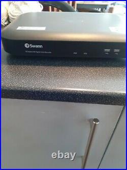 Swann DVR8-4980 8 Channel 2TB Super HD 4xPRO-1080MSB 2XPRO-1080 Cameras CCTV Kit