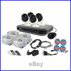 Swann DVR8-4980 8 Channel 2TB Super HD 4x 5MP Thermal Sensing Cameras CCTV Kit