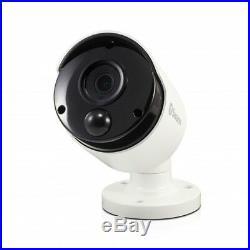 Swann DVR8 4980 8 Channel 2TB Super HD 8x 5MP Thermal Sensing Cameras CCTV Kit