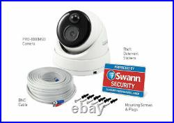 Swann DVR 4580 4 8 Channel HD Heat Motion Sensing 1080MSD Dome Cameras CCTV Kit