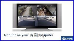 Swann DVR 4580 4 Ch 1080p HD & 2 x 1080p Thermal Sensing Cameras 1TB HDD KIT