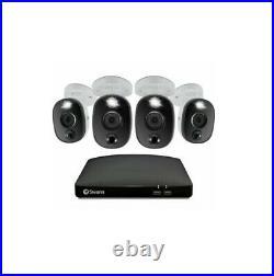 Swann DVR 5680 4 8 Channel PRO-4KWLB Spotlight Heat PIR Siren 4K Camera CCTV Kit