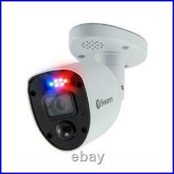 Swann DVR 5680 4 Channel 4K UHD 1TB HDD Enforcer Warning Light 4 Camera CCTV Kit