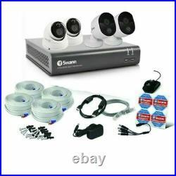 Swann DVR CCTV Kit DVR8 4480 8 Channel 1TB HDD 4x1080p Heat Sensing Cameras