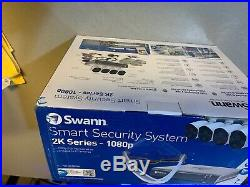 Swann Digital Wired Outdoor 4-Pack Security Camera Kit with Night Vision (BNIB)