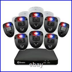 Swann Enforcer DVR 4680 SD 4 8 Channel HD 1080SL Motion Sensing Camera CCTV Kit