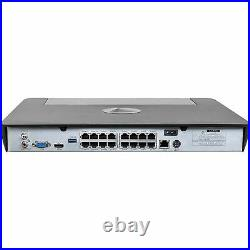 Swann NVR16-8580 2TB 16 Channel NVR with 8x 5MP Thermal Cameras CCTV Kit