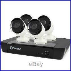 Swann NVR8-7450 5MP 8 Channel NVR & 4x NHD-855 5MP HD Cameras CCTV Kit