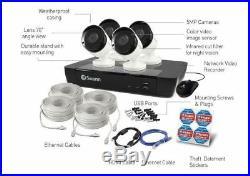 Swann NVR-7450 8 Channel 5MP Super HD NVR & 4 x 5MP Bullet Cameras 2TB HDD KIT