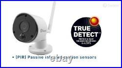 Swann NVW-490 4 Channel Wi-Fi HD 1080P CCTV Wireless Camera Kit Audio Heat 2TB