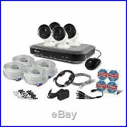 Swann SWDVK-849804 8 Channel 5MP Super HD DVR & 4 x 5MP Cameras 2TB HDD CCTV KIT