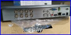 Swann SWDVK-849804 Heat-Sensing 8 Channel 2TB 5MP CCTV Kit 2 x Cameras Used
