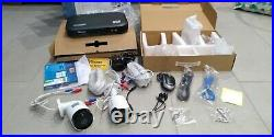 Swann SWDVK-849804 Heat-Sensing 8 Channel 2TB 5MP CCTV Kit TWO CAMERAS ONLY Used