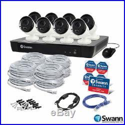 Swnvk-1675808 4k 16 Channel X 8 5mp 1080p Swann Infrared Night Vision Cctv Kit