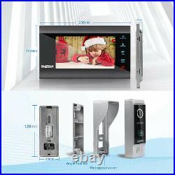 TMEZON 1080P WiFi Video Door Phone Intercom Kit 7 IP Monitor HD Doorbell Camera