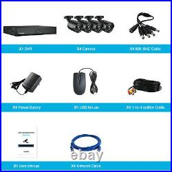 TOGUARD 5MP 8CH Home Security Camera DVR CCTV System Outdoor Night Vision Kit UK