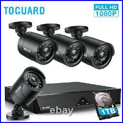 TOGUARD Home Security System Wired 8CH 5MP IP Camera CCTV 1TB Outdoor Audio Kit