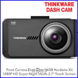 Thinkware B-X700-HW Front Camera 1080P HD 2.7 LCD Dash Cam 16GB Hardwire Kit