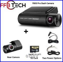 Thinkware F800 PRO KIT 2CH 64GB Full HD WIFI GPS Night Vision+Rear Cam+HW Kit