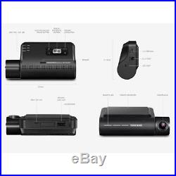 Thinkware F800 Pro Dash Cam 64GB Kit withRear Cam Hardwire WiFi GPS Night Vision