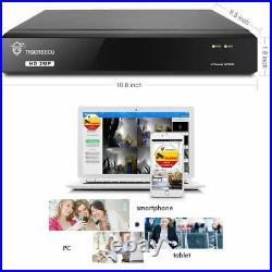 TigerSecu Full HD 1080P 1TB 8 Channel DVR+4x HD Camera Home CCTV System Kit UK