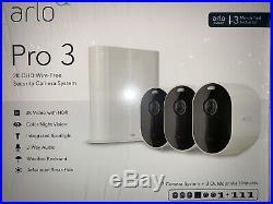 Ultimate Arlo Pro 3 2K Wireless Security Camera Kit VMS4340P NIB SHIP FROM STORE