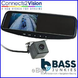 Universal Car Rear Night Vision Reversing Camera & 4.3 Interior Mirror Screen