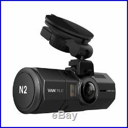 VANTRUE N2 32GB BUNDLE PACKAGE Dual Dash Cam, GPS, Hardwire Kit, Samsung SDXC