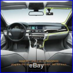 VANTRUE N2 64GB BUNDLE PACKAGE Dual Dash Cam, GPS, Hardwire Kit, Samsung SDXC