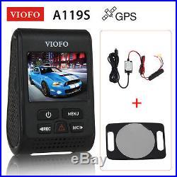 Viofo A119S V2 Capacitor Car DVR+GPS Module+Hardwire Kit+CPL Wide Angle G-Sensor