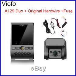 Viofo A129 Duo 1080P 30FPS Car Video G-Sensor Wifi + GPS + Hardwire & Fuse Kit