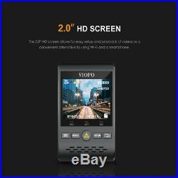 Viofo A129 Duo GPS Dual HD Lens Car Dash Camera G-Sensor with Hardwire &Fuse Kit