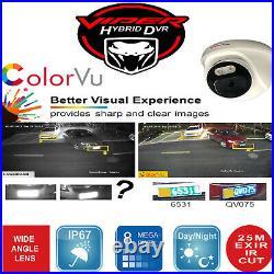Viper Pro Dvr 4k Viper Pro 8mp Colorvu Cameras Night Vision Cctv System Kit Uk