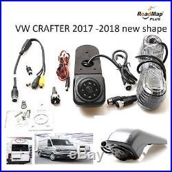 Vw crafter 2016 2017 2018 Rear reversing camera kit brake light reverse parking