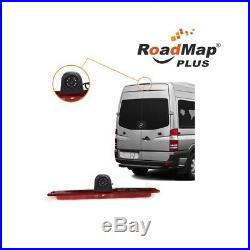 Vw crafter rear parking camera kit minibus rear view mirror monitor reversing