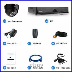 Wired 8CH Outdoor CCTV 5MP DVR Home Surveillance Security IP Camera System Kits