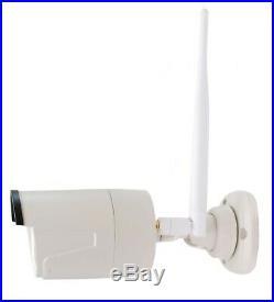 Wireless 12 CCTV Monitor Kit 500 GB HD 4 x 1080P Cameras Remote Viewing