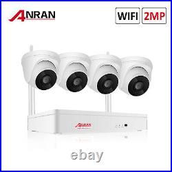 Wireless Audio Security Camera System 8CH WiFi HD 2MP CCTV IP Home Kit IR Night