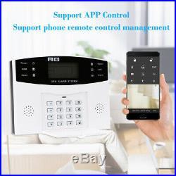 Wireless GSM SMS WiFi Smart Home House Office Security Burglar Alarm Systems Kit