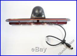Wireless Mercedes Sprinter Brake Light LED Reverse Camera+7 Stalk Monitor Kit