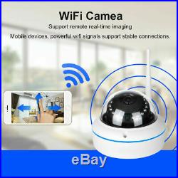Wireless WiFi Cameras Home Surveillance HD Security CCTV System Kit Night Vision
