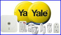 YALE SR-340 Smart Home Alarm and view kit motion detector, PIR image camera